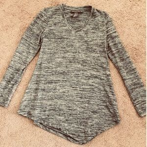 A Pea in the Pod Marled Knit Grey Sweater XS